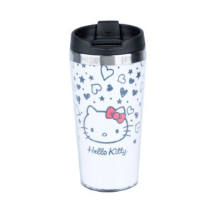 Copo para Viagem 500ml Hello Kitty
