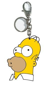 Chaveiro de Metal Simpsons - Homer