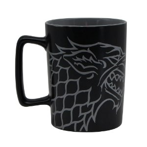 Caneca com Alça Quadrada 500ml Game of Thrones - Stark