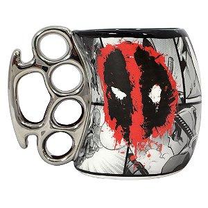 Caneca Soco Inglês 350ml Marvel - Deadpool