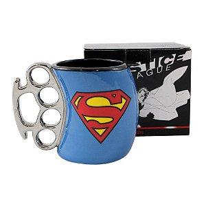 Caneca Soco Inglês 350ml Liga da Justiça - Super Homem
