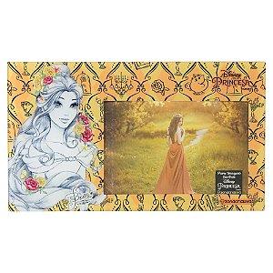 Porta Retrato de Vidro 10x15 Disney - Princesa Bela