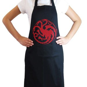 Avental Game of Thrones - Targaryen