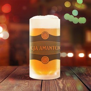 Caneca de Chopp Fosca 475ml Cerveja Amanteigada