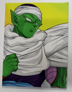 Placa de Metal 26x19 Dragon Ball - Piccolo