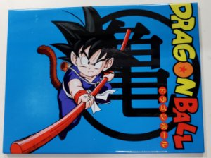Placa de Metal 26x19 Dragon Ball - Goku