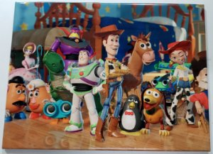 Placa de Metal 26x19 Toy Story