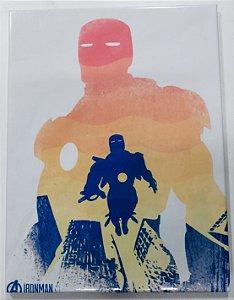 Placa de Metal 26x19 Homem de Ferro