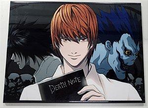 Quadro de Metal 26x19 Death Note