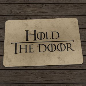 Capacho Ecológico Game of Thrones - Hold the Door