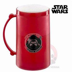 Caneco Congelável 390ml Star Wars -  Força Kylo Ren