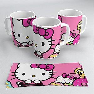 Caneca 300ml Hello Kitty Face