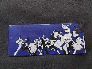 Quadro de Metal 26x11 Batman - Vilões