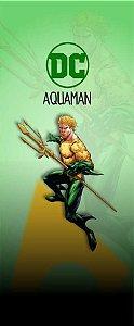 Quadro de Metal 26x11 Dc - Aquaman