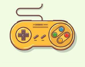 Quadro de Metal 26x19 Controle Super Nintendo