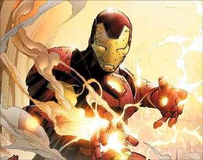 Quadro de Metal 26x19 Iron Man