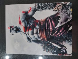 Quadro de Metal 26x19 God Of War 2 - Kratos