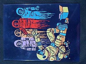 Quadro de Metal 26x19 Astrounautas