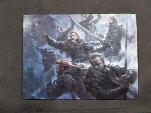 Quadro de Metal 26x19 Game Of Thrones - Batalha