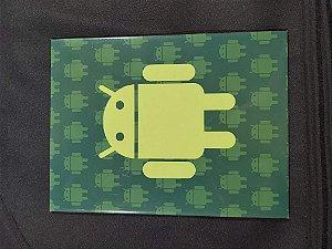 Quadro de Metal 26x19 Android