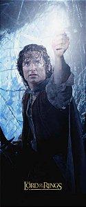 Quadro de Metal 26x11 Senhor dos Anéis - Frodo