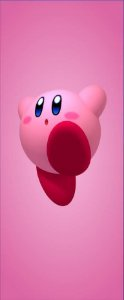 Quadro de Metal 26x11 Kirby