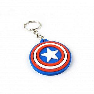 Chaveiro Capitão América - Escudo
