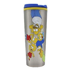 Copo para Viagem 450ml Simpsons - Família