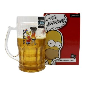Caneco de Chopp 500ml Simpsons - Churrasco Duff
