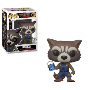 Funko Pop Guardiões da Galáxia - Rocket Exclusivo Disney Parks