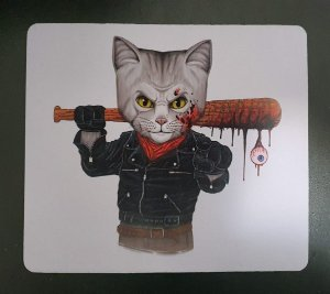 Mousepad The Walking Dead - Negan Cat