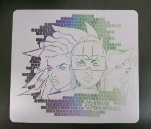 Mousepad League of Legends - True Damage Light