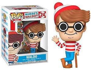 Funko Pop Onde Está o Wally - Waldo