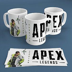 Caneca Personalizada 300ml Apex Legends Nickname - Crypto