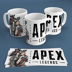 Caneca Personalizada 300ml Apex Legends Nickname - Gibraltar