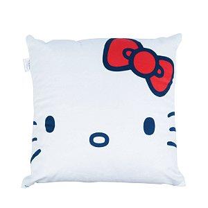 Capa de Almofada 45cm x 45cm Hello Kitty - Branco
