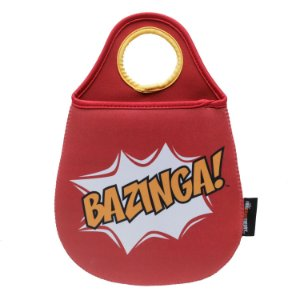 Lixinho de Carro The Big Bang Theory - Bazinga!