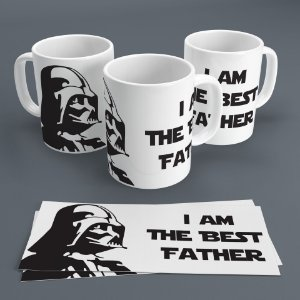 Caneca 300ml Star Wars - I Am The Best Father