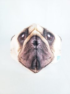Máscara Pug Face