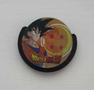 Pop Socket Holográfico Dragon Ball Z - Goku e Vegeta