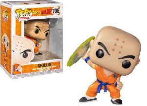 Funko Pop Dragon Ball Z - Krillin (706)