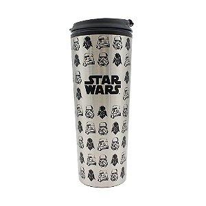 Copo para Viagem 450ml Star Wars - Vader & Troopers