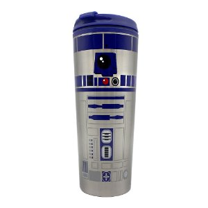 Copo para Viagem 450ml Star Wars - R2-D2