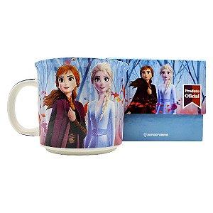 Caneca Tom 350ml Frozen 2 - Anna e Elsa