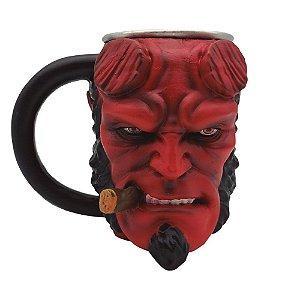 Caneca 3D Hellboy
