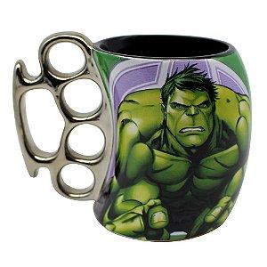 Caneca Soco Inglês 350ml Marvel - Hulk