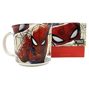 Caneca Tom 350ml Marvel - Homem Aranha