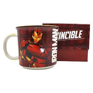 Caneca Tom 350ml Marvel - Home de Ferro