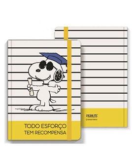 Caderno de Anotações Snoopy - Todo Esforço Tem Recompensa