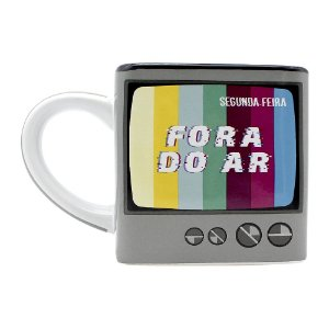 Caneca Cubo 300ml Fora do Ar